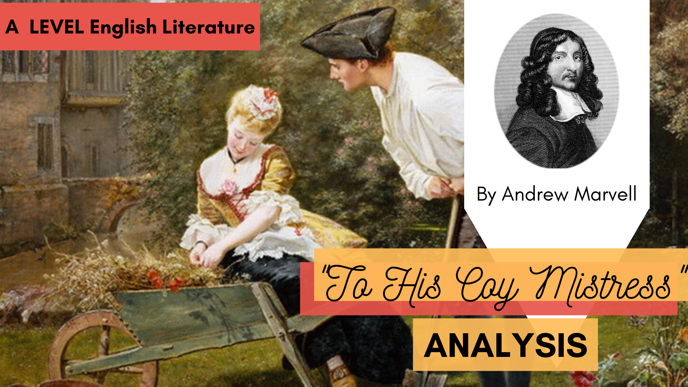 Analysing 'To His Coy Mistress' by Andrew Marvell